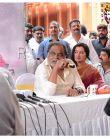 Amar Kannada movie muhurtha :  ambareesh speaks about son Abhishek during amar press meet
