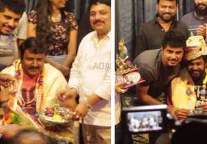 MLA Kannada movie : ಒಳ್ಳೆ ಹುಡುಗನಿಂದ ಧ್ರುವ ಸರ್ಜಾ ಹಾಗೂ ವಿ.ನಾಗೇಂದ್ರ ಪ್ರಸಾದ್ಗೆ ಸನ್ಮಾನ..!