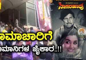Nagarahaavu 2018 : ನಾಗರಹಾವು ನೋಡಿ ಖುಷ್ ಆದ ಅಭಿಮಾನಿಗಳು..!!