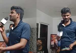 ಸೂಪರ್ ಆಗಿ ಹಾಡ್ತಾರೆ ನಮ್ ಕಾಮಿಡಿ ಕಿಂಗ್ ಚಿಕ್ಕಣ್ಣ..!!