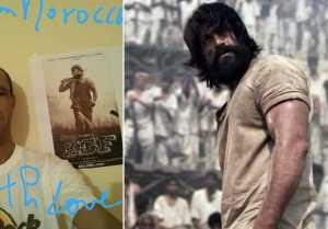 KGF Movie : ಮೊರೊಕ್ಕೊದಲ್ಲಿ ಜೋರಾಯ್ತು ಯಶ್ ಫೀವರ್