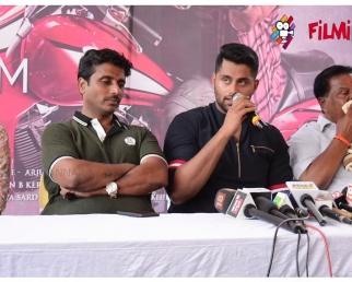 Amar Kannada movie muhurtha : Abhishek ambareesh is mamma's boys says producer