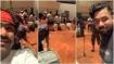 ಸಾಂಗ್ ರೆಕಾರ್ಡಿಂಗ್ ನಲ್ಲಿ ದರ್ಶನ್ 'ರಾಬರ್ಟ್': ವಿಡಿಯೋ ಹಂಚಿಕೊಂಡ ಅರ್ಜುನ್ ಜನ್ಯ