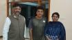 ಶಿವರಾಜ್ ಕುಮಾರ್ ನಿವಾಸಕ್ಕೆ ಡಿ.ಕೆ.ಶಿವಕುಮಾರ್ ಹಠಾತ್ ಭೇಟಿ