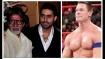 ಅಮಿತಾಬ್ ಬಚ್ಚನ್ ಅಭಿಮಾನಿ WWE ಸೂಪರ್ ಸ್ಟಾರ್ ಜಾನ್ ಸೀನ!