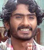 Actor Yogish In Gandhi Ashram Ravana Shooting
