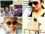 In Pics Sandalwood Stars Cast Their Vote For Bbmp Election