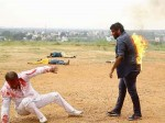Anup Revanna S Fire Stunt For Lakshmana