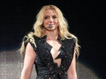 Pop Singer Britney Spears Body In Cutout Neon Swimsuit