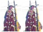 Ramya S Cutout For Nagarahavu In Siddhartha Theater Mandya