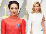 Why Are Hollywood Stars Wearing Blue Ribbons On The Oscars Red Carpet