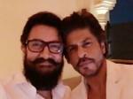 Shahrukh Khan Aamir Khan S First Selfie In 25 Years