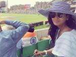 In Pics Parul Yadav London Watching India Vs Pakistan Cricket Match