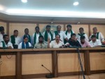 Shivraj Kumar Jaggesh And Shruthi Participated In The Press Conference