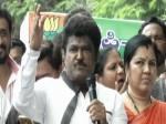 Kannada Actor Politician Jaggesh Slams Congress Jds Alliance