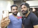Actor Sri Murali Met Sunil Shetty Met In Hyderabad