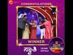 Swathi Is The Winner Of Drama Juniors Season