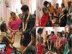 Hitha Chandrashekar Got Engaged With Kiran