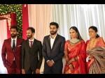 Kannada Celebrities Attend The Yuvaraj Kumar Reception