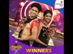 Sunil And Dikshita Win The Dance Contest Of Thakadimitha Reality Show