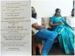 Raghavendra Raj Kumar And His Wife Invited Sarja Family To Their Son Marriage