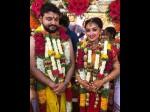 Kannada Famous Serial Sarva Mangala Mangalye Fame Actress Aishwarya Got Marriage With Hari Vinay