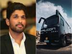 Telugu Actor Allu Arjun Buy New Vanity Van
