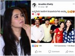Anushka Shetty Wishes Her Mother In Kannada