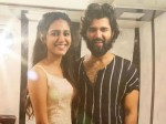 Vijay Devarakonda And Priya Prakash Varrier Photo Viral