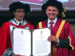 Shahrukh Khan Received Doctorate From La Trobe University