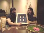 Makeup Man Gifted Ayra Feet And Hand Art To Yash And Radhika