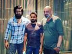 Yash Meet Sanjay Dutt In Between Kgf Shooting