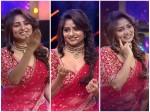 Actress Rachita Ram Is Anchoring At The Colors Kannada Anubandha Award