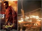 Fire Accident Didn T Happen In Pogaru Movie Set