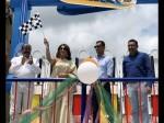 Haripriya Launched Wonderla Way Ride