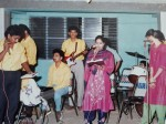 Sharan Shared His Orchestra Days Pic