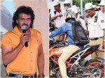 Upendra Didn T Gave Proper Reaction For New Traffic Fines Rules