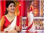 Actress Rachita Ram Photoshoot Wearing Ammans Saree