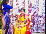 Kurukshetra Fame Actress Sneha Traditional Baby Shower Ceremony