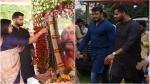 ಅಂಬಿ ವರ್ಷದ ಪುಣ್ಯ ತಿಥಿ: ಸುಮಲತಾ, ಅಭಿ ಜೊತೆ ದರ್ಶನ್ ಭಾಗಿ