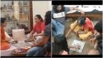 ಕುಟುಂಬದ ಜೊತೆ ಧ್ರುವ-ಚಿರು ಸರ್ಜಾ ಪಗಡೆ ಆಟ: ವಿಡಿಯೋ ವೈರಲ್