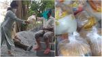 ಬಡವರಿಗೆ ಆಹಾರ ಕಿಟ್ ವಿತರಿಸಿದ ನಟಿ ಶುಭಾ ಪೂಂಜಾ