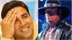 ಅಕ್ಷಯ್ ಕುಮಾರ್ಗೆ WWE ಅಂಡರ್ ಟೇಕರ್ ಓಪನ್ ಚಾಲೆಂಜ್; 'ಖಿಲಾಡಿ' ಪ್ರತಿಕ್ರಿಯೆ ಹೀಗಿದೆ
