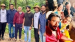 'ಜೇಮ್ಸ್' ಚಿತ್ರಕ್ಕೆ ರಾಮ್-ಲಕ್ಷ್ಮಣ್ ಎಂಟ್ರಿ, ಶ್ರೀಮುರಳಿ ಸೆಲ್ಫಿ ವೈರಲ್