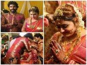 ಚಿತ್ರಗಳು: ವೈವಾಹಿಕ ಜೀವನಕ್ಕೆ ಕಾಲಿಟ್ಟ ಬಹುಭಾಷಾ ತಾರೆ ನಮಿತಾ