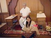 ಧರ್ಮಸ್ಥಳಕ್ಕೆ ಭೇಟಿ ನೀಡಿದ ನಟಿ ರಚಿತಾ ರಾಮ್