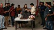 'ನಿಜಾಲ್' ಚಿತ್ರತಂಡದ ಜೊತೆ ಬರ್ತಡೇ ಆಚರಿಸಿಕೊಂಡ ನಯನತಾರ