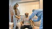 ಚಿತ್ರೀಕರಣದಿಂದ ಹಿಂತಿರುಗುತ್ತಿದ್ದಂತೆ ಕೋವಿಡ್ ಲಸಿಕೆ ಪಡೆದ ರಜನಿಕಾಂತ್