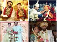 2018 ಫ್ಲ್ಯಾಶ್ ಬ್ಯಾಕ್: ಸ್ಯಾಂಡಲ್ ವುಡ್ ನಲ್ಲಿ ಮದುವೆ ಸಂಭ್ರಮ ಬಲು ಜೋರು