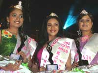 Deepika crowned as Miss South India 2009!